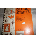 Vintage Creative Activities for Kids Book - $10.00
