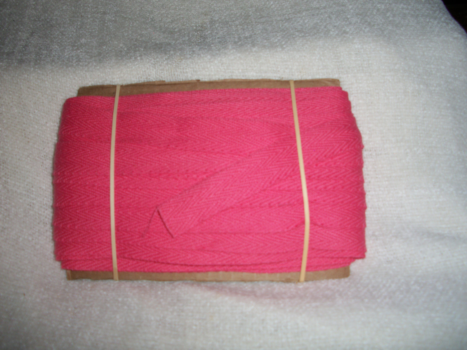 Primary image for Vintage Hot Pink Rug Binding