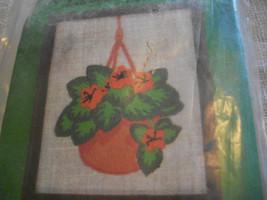 Stitchkins 1760~Flame Violet Crewel Kit - $10.00