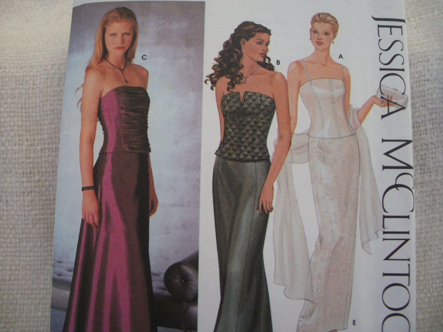 Primary image for Jessica McClintock Woman's Evening Gown Pattern Simplicity 9484