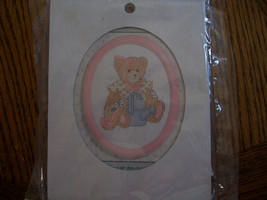 Mini Teddy Bear Cross Stitch Kit - $8.00
