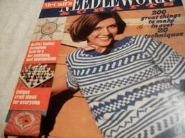 McCall's Needlework & Crafts Spring-Summer 1974 - $10.00