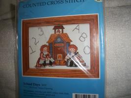 Raggedy Ann & Andy Cross Stitch Kit - $10.00
