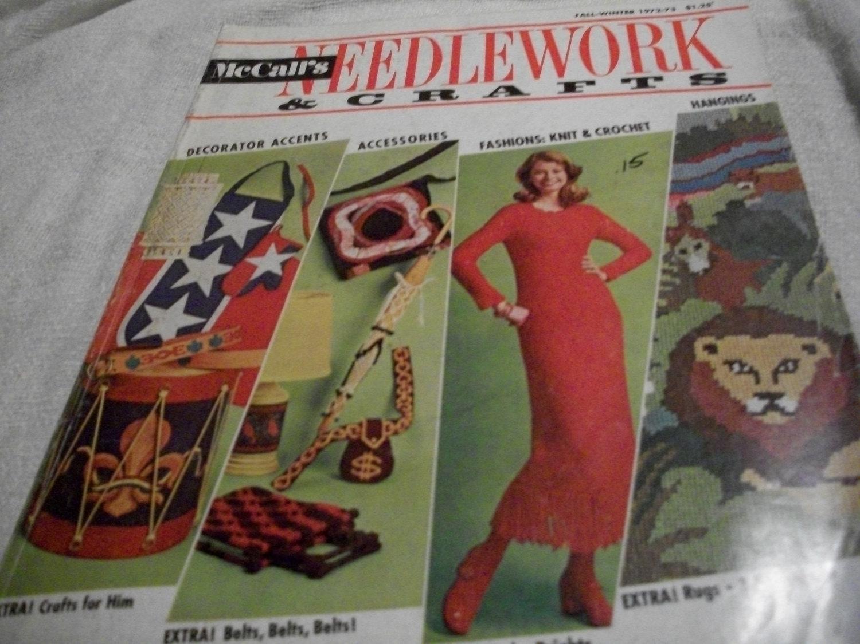 McCall's Needlework & Crafts Fall-Winter 1972-73 - $10.00