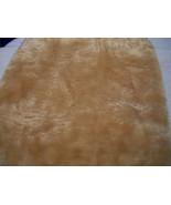 Teddy Bear Tan Faux/Fake Fur Yardage - $18.00