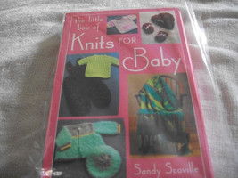 Little Box of Knit Patterns For Baby - $10.00