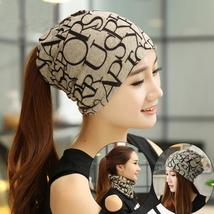 Spring Autumn Winter Windproof Cotton Hip-hop Knitted Sleeve Caps Beanie Hat Hoo