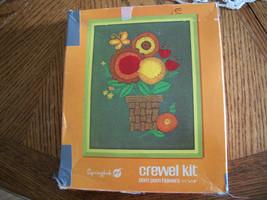 Floral Crewel Kit - $35.00