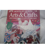 Month By Month Arts & Crafts Book for Kids - $18.00