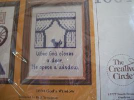 Creative Circle 1604~God's Window Cross Stitch Kit - $10.00