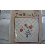 Candlewicking Embroidery Kit: Comes with Fabric, Candlewicking Thread & ... - $13.00