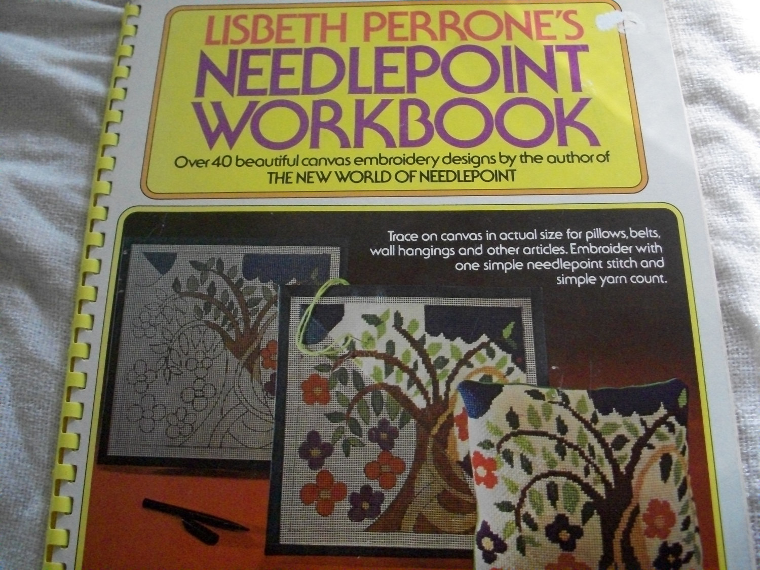 Primary image for Lisbeth Perrone's Needlepoint Workbook