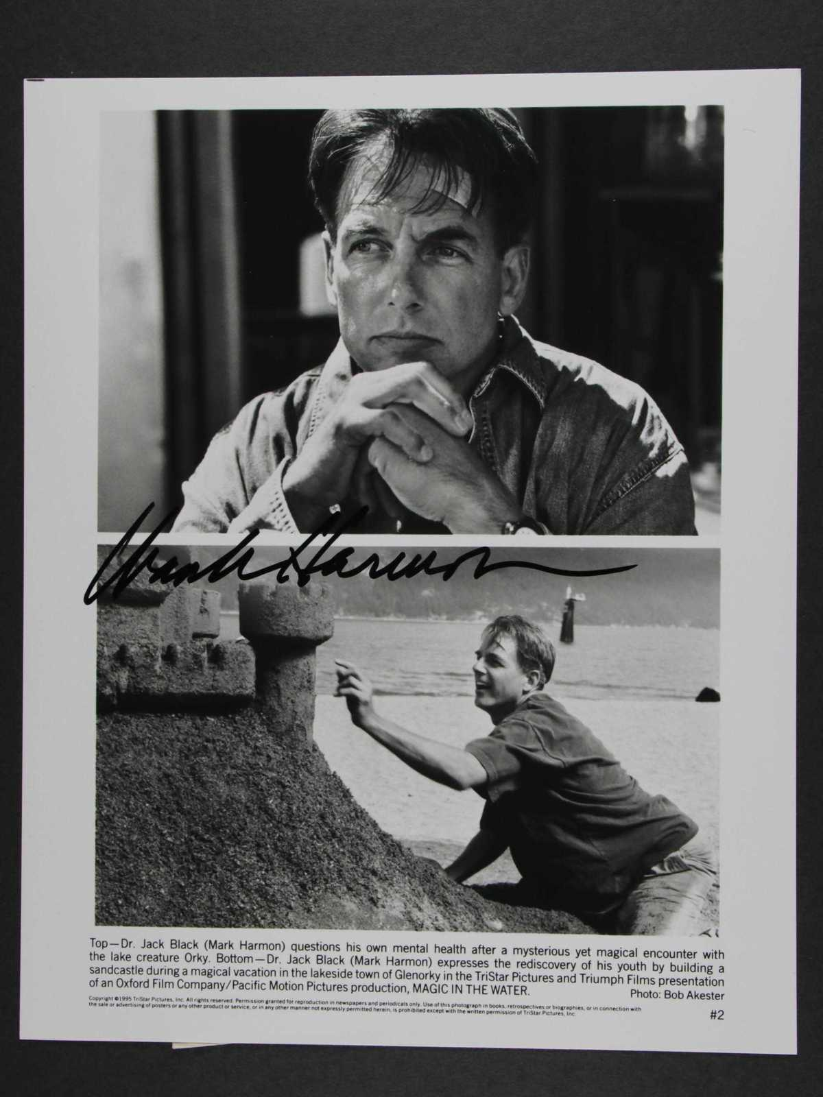 Primary image for Mark Harmon Signed Autographed Glossy 8x10 Photo