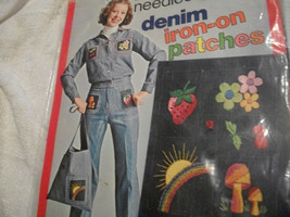 Denim Iron-On Patches Embroidery Kit - $15.00