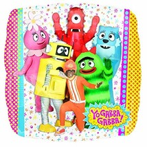 "Yo Gabba Gabba! Nick Jr Cartoon Birthday Party Decoration 18"" Mylar Balloon - $8.17"