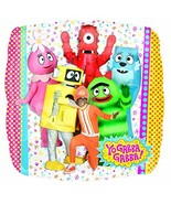 "Yo Gabba Gabba! Nick Jr Cartoon Birthday Party Decoration 18"" Mylar Balloon - $8.17"