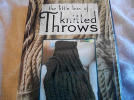 The Little Box of Knitted Throws Knitting Patterns - $12.00