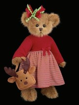 "Bearington Bears ""Regan Reindeer""  14"" Plush Bear- #173141- NWT- 2010 - $39.99"
