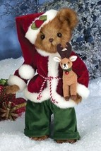 "Bearington Bears ""Kringle & Jingle""  15"" Plush Bear- #173202 - NWT- 2014 - $49.99"