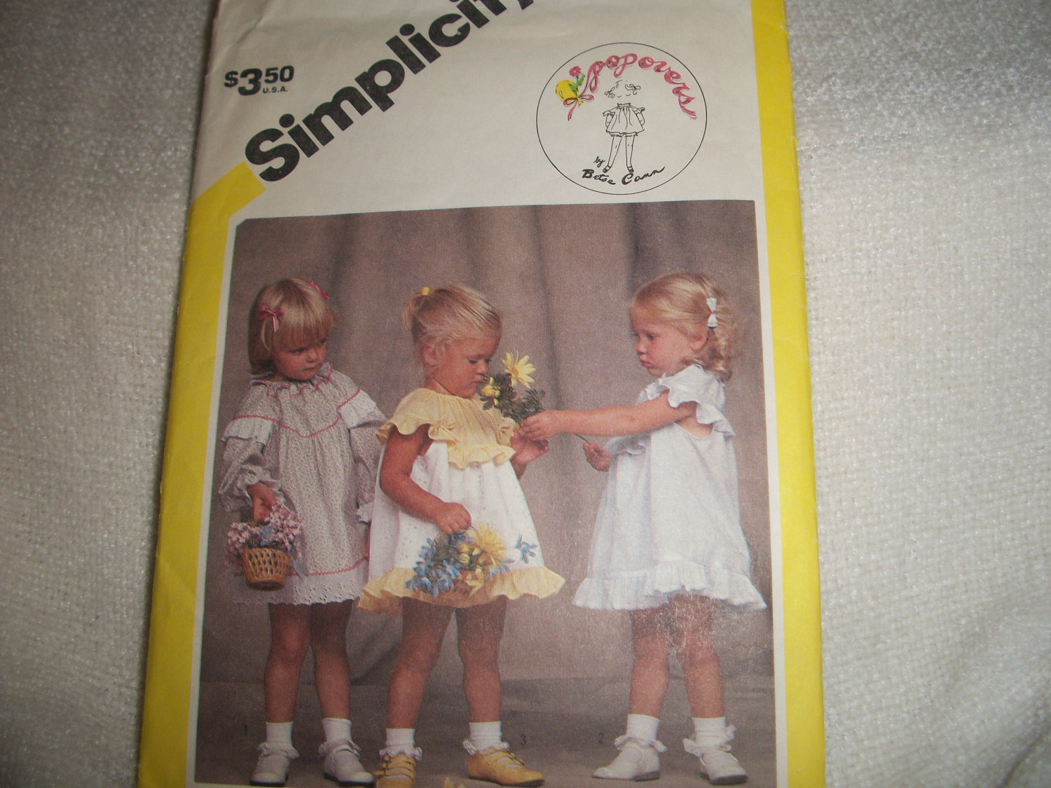 Primary image for Toddlers Dress & Panties Pattern Simplicity 6351