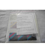 Amish Quilt Block Pattern Kit - $10.00