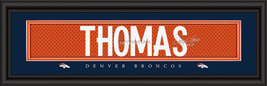 Demaryius Thomas Denver Broncos Player Signature Stitched Jersey Framed Print - $39.95