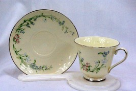 Minton 1987 Brookwood #S744 Cup And Saucer Set - $13.16