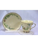 Minton 1987 Brookwood #S744 Cup And Saucer Set - $11.96