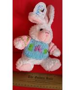 Toy Holiday Wishpets Plush Easter Blue Sweater Bunny Rabbit Stuffed Anim... - $9.49