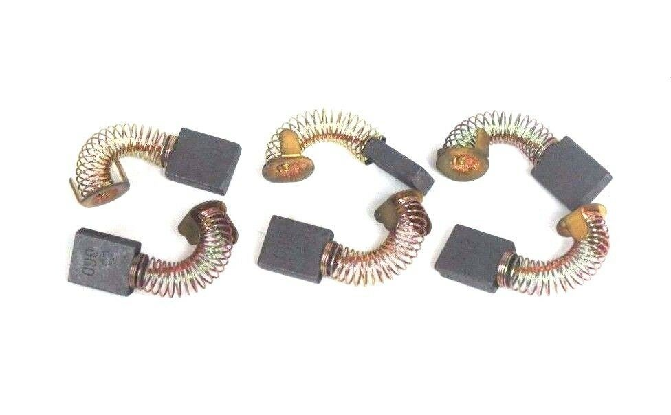 LOT OF 6 NEW 660 CARBON MOTOR BRUSHES