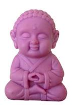 Pocket Buddha Wisdom Purple Buddhism Figurine Toy - $4.99