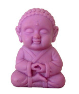 Pocket Buddha Wisdom Purple Buddhism Figurine Toy - $4.99