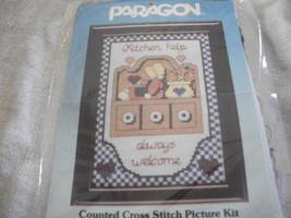 Kitchen Cross Stitch Kit - $10.00