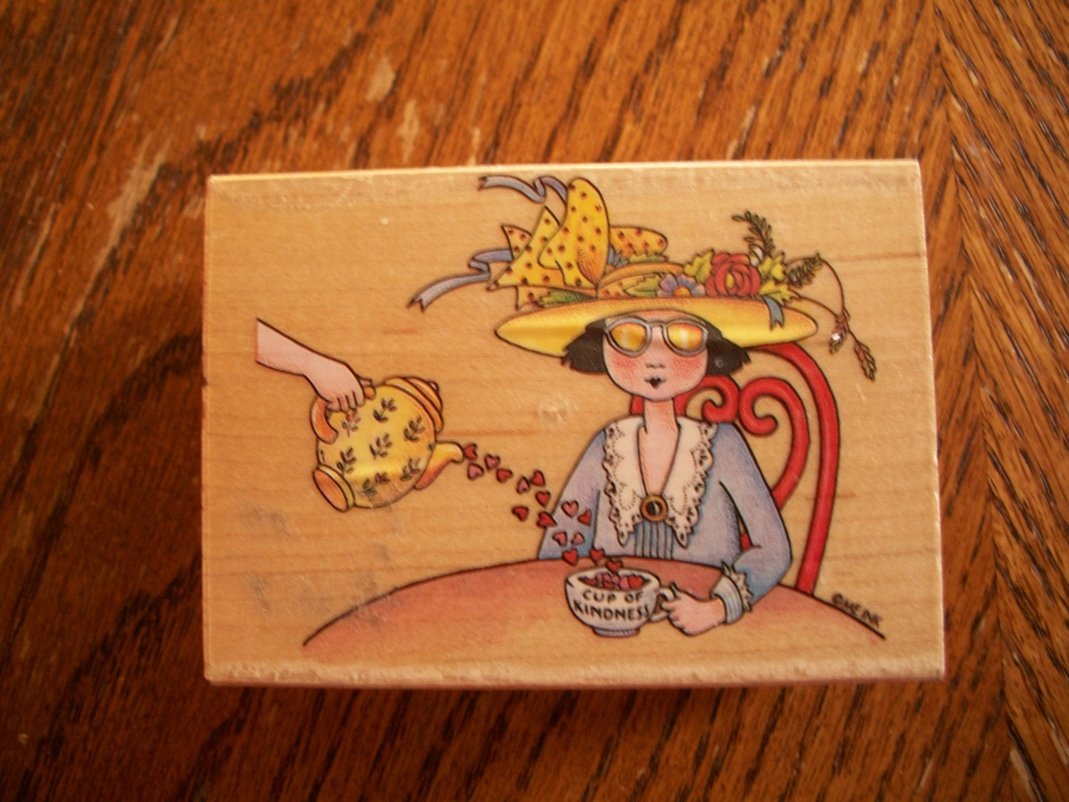 Primary image for Tea Time Rubber Stamp