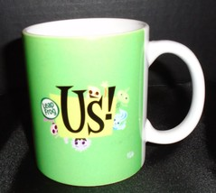 Advertising Leap Frog US coffee cup mug Green Rare - $15.83