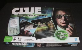 Clue Secrets & Spies board game Hasbro Family fun game Age 9+ Complete - $14.84