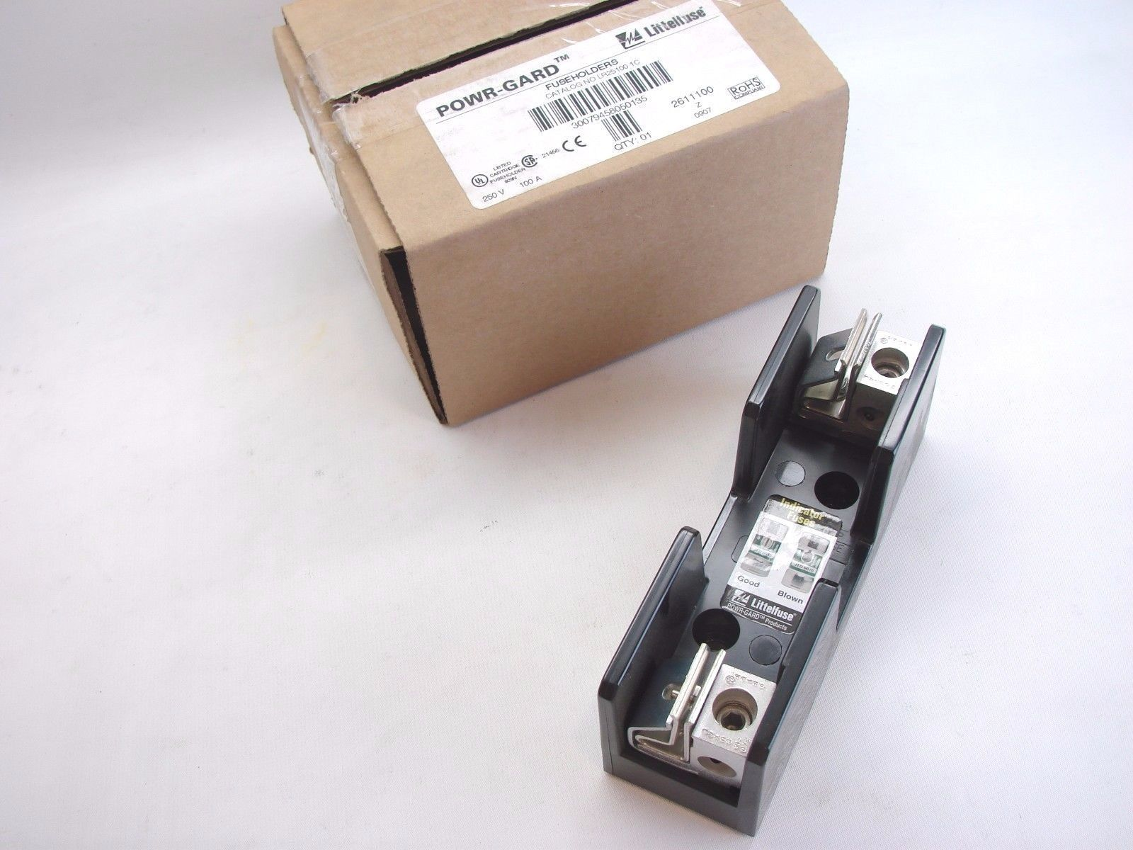 Littlefuse Fuse Box Holder Littelfuse Powr Gard Lr25100 1c Single Class And 50 Similar Items R Block 250v 100a New B230