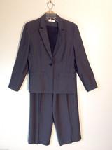 Valerie Separates Women's Size 8, 8P Petite Suit Set Blazer & Pants Gray Tweed