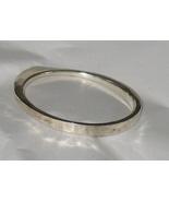 Vintage H Carnegie Modernist Silver Bracelet Signed  OOAK - $599.95