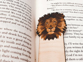 Engraved Lion Bookmark - $10.00