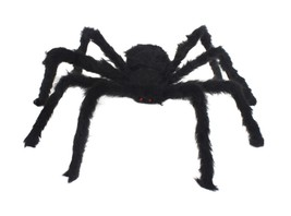 """Fake Black Spider 12"""" Scary Halloween Party Dec... - $6.43"""
