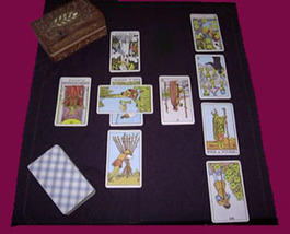 FULL CELTIC CROSS TAROT READING FROM 96 YEAR OLD WITCH ALBINA Witch Cassia4  - $59.77