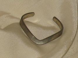 Vintage Raymond Pewter Cuff Bracelet Art Deco - $24.99