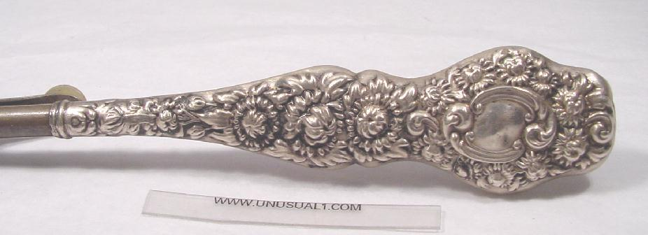 ANTIQUE STERLING HAIR CURLER