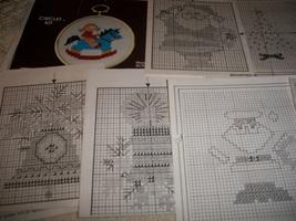 Christmas Cross Stitch Charts - $3.00