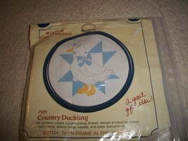Country Duckling Candlewicking Kit - $10.00