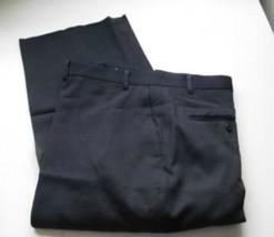 King Size Big Mens Pants Navy Blue  Flat Front  Unhemmed  44   50   52 - $12.92
