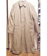 Mens London Fog Trench Coat 42 X Long 44 X Long - $108.00