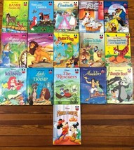 Disney Wonderful World Of Reading Childrens Book Lot Of 16 HC Illustrated Books - $37.99