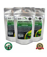 Moringa Tea 3-Pack 90 Bags 100% Pure Organic Great For Energy, Nutrition - $21.95